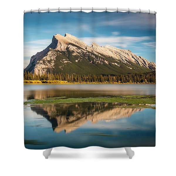 Mount Rundle Banff Shower Curtain