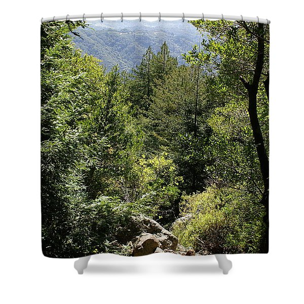 Mount Tamalpais Forest View Shower Curtain