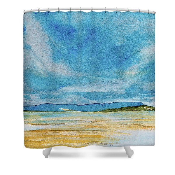 View Of Mount Wellington From South Bruny Island Shower Curtain