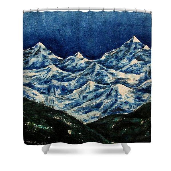 Mountain-2 Shower Curtain