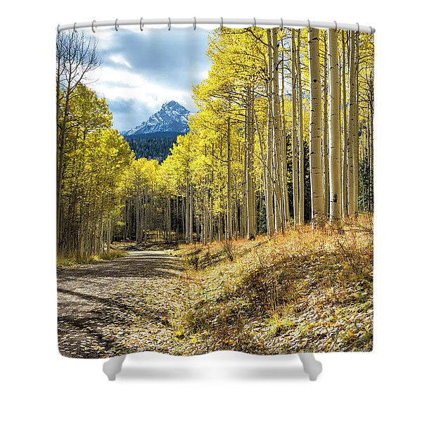 Mountain Highlights Shower Curtain