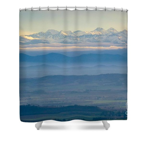 Mountain Scenery 11 Shower Curtain