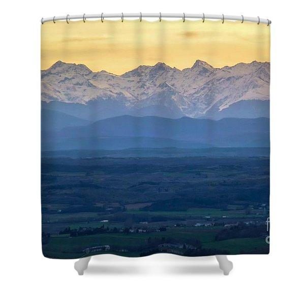 Mountain Scenery 15 Shower Curtain