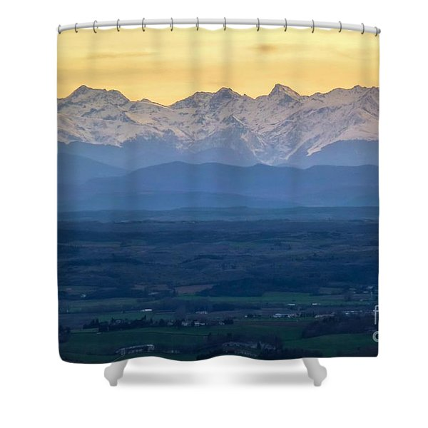 Mountain Scenery 15 Shower Curtain