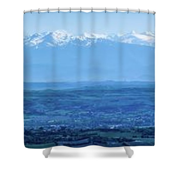 Mountain Scenery 16 Shower Curtain