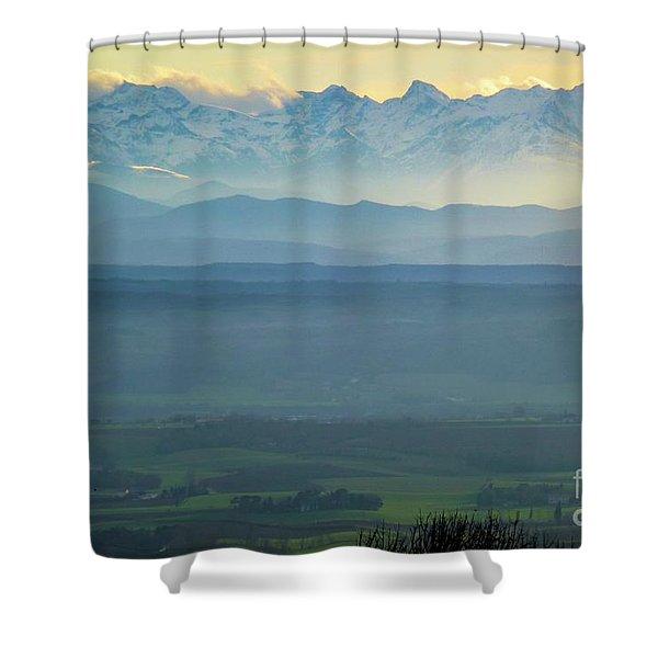 Mountain Scenery 18 Shower Curtain