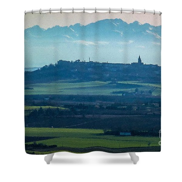 Mountain Scenery 4 Shower Curtain