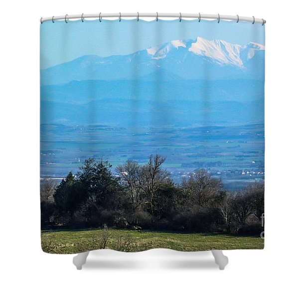 Mountain Scenery 6 Shower Curtain