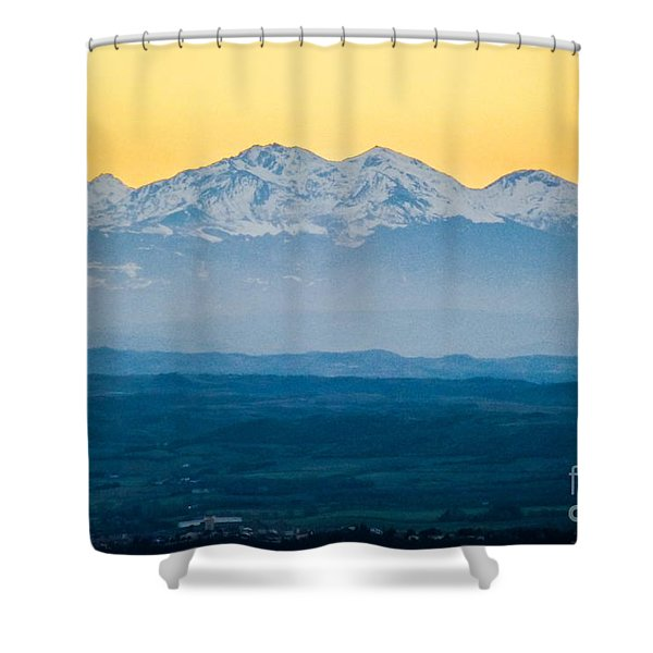 Mountain Scenery 7 Shower Curtain