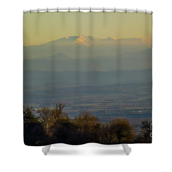 Mountain Scenery 8 Shower Curtain