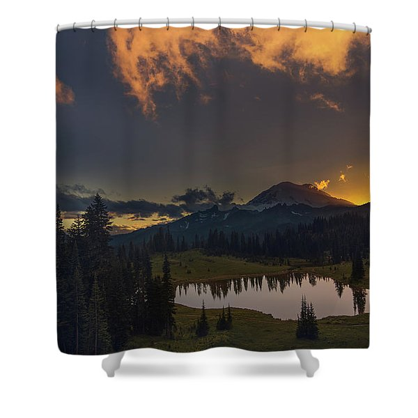 Mountain Show Shower Curtain