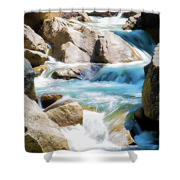 Mountain Spring Water Shower Curtain