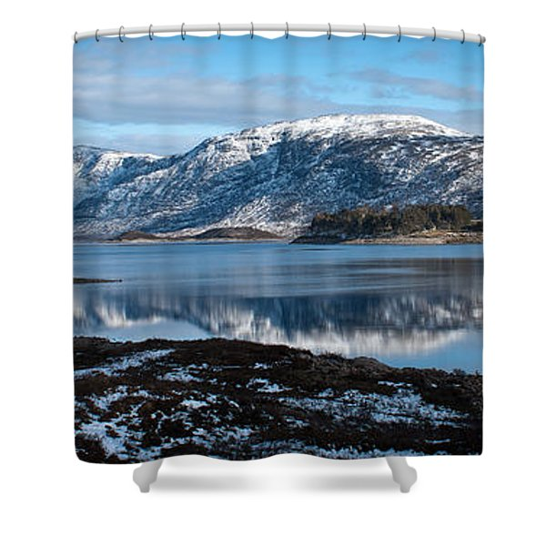 Mountain Tranquillity  Shower Curtain