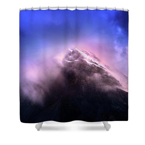 Mountain Twilight Shower Curtain
