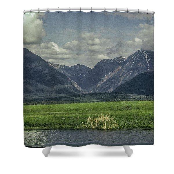 Mountain View Montana.... Shower Curtain