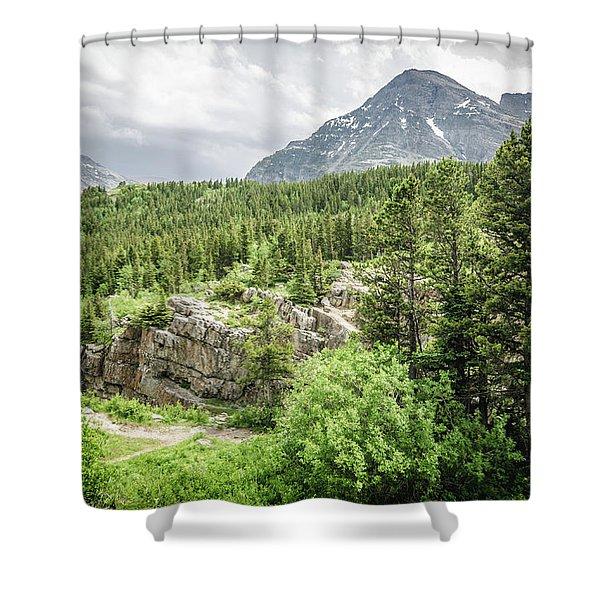 Mountain Vistas Shower Curtain