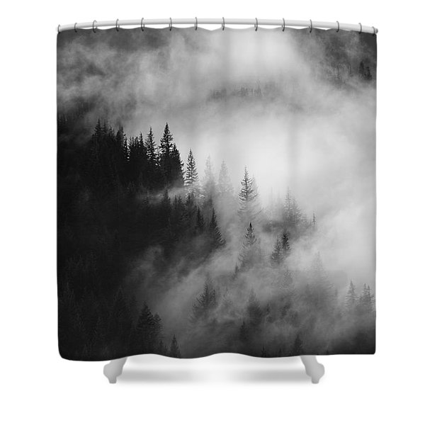 Mountain Whispers Shower Curtain