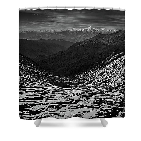Mountaineers Dream Shower Curtain