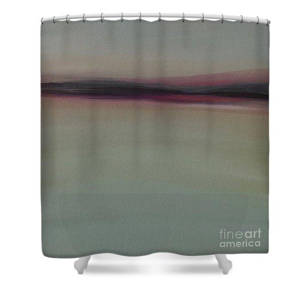 Mountains At Dawn Shower Curtain