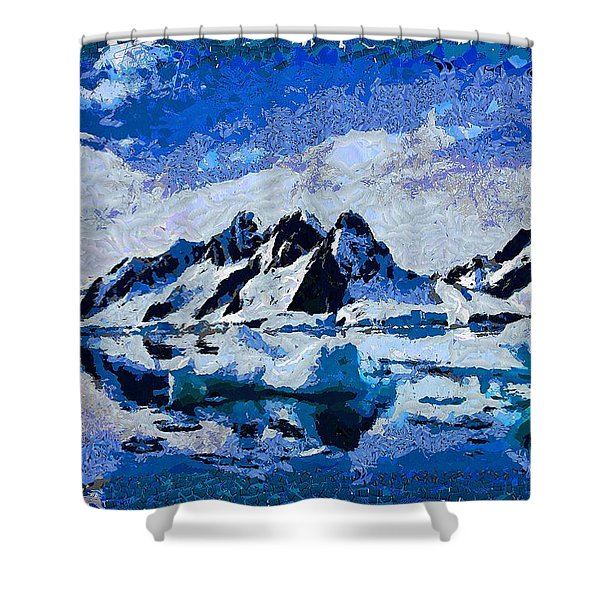 Mountains Of The North Shower Curtain