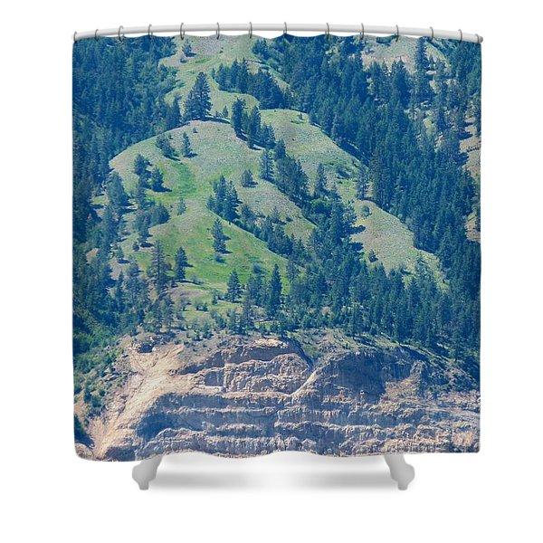 Mountainside Shower Curtain