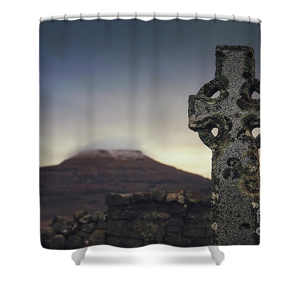 Mourning Star Shower Curtain