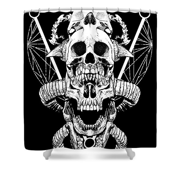 Mouth Of Doom Shower Curtain
