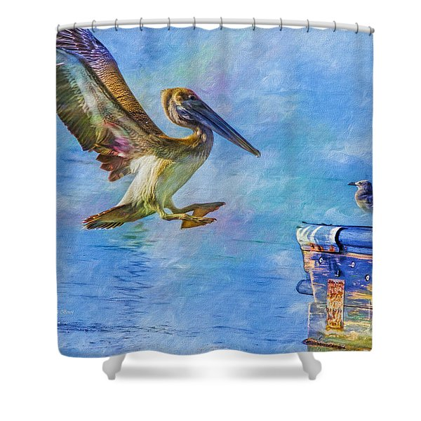 Move Over Shower Curtain