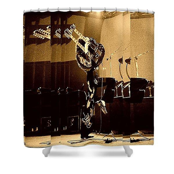 Mr Jimmy Page Zofo Shower Curtain