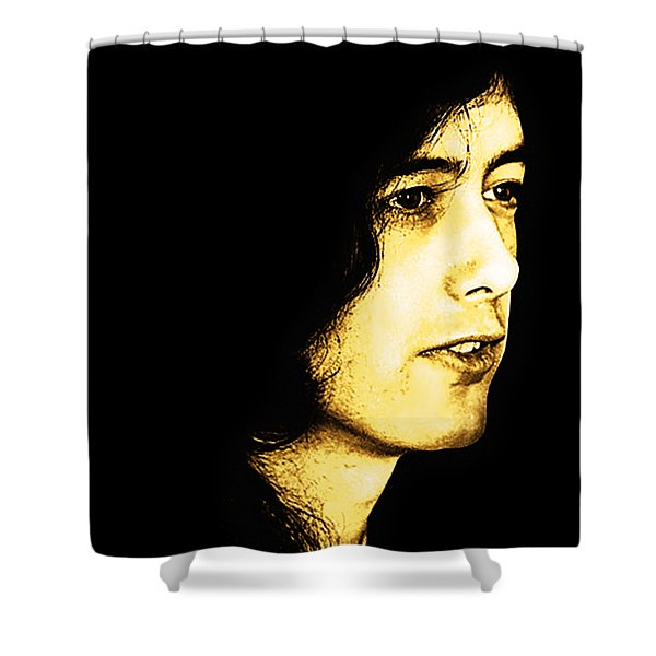 Mr Page Shower Curtain
