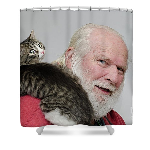 Ms Alexia And David Shower Curtain