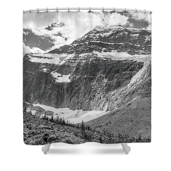 Mt. Edith Cavell Shower Curtain