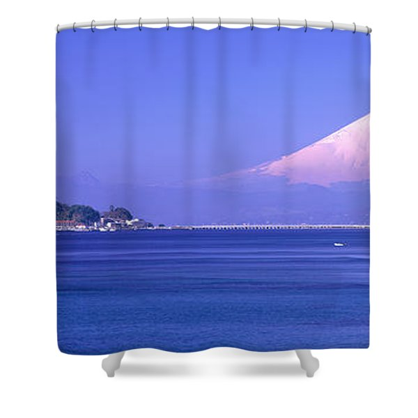 Mt Fuji Kanagawa Japan Shower Curtain