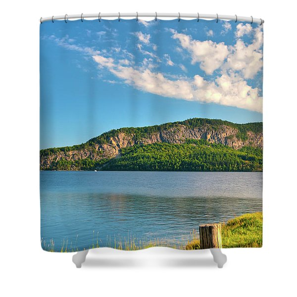 Mt Kineo 1504 Shower Curtain