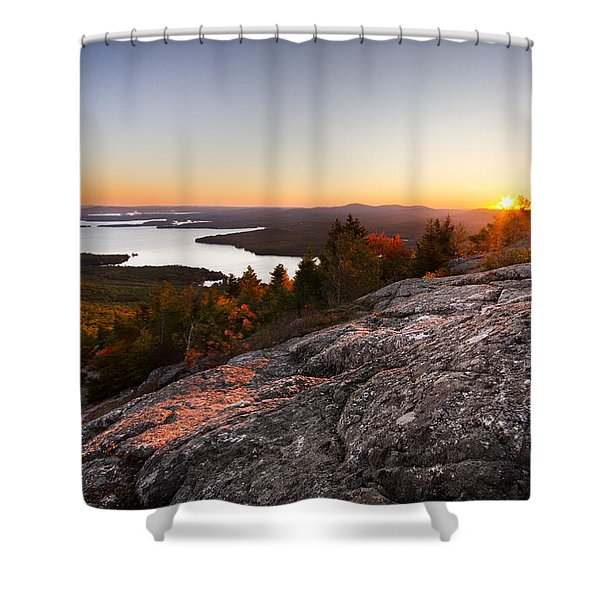 Mt. Major Summit Shower Curtain