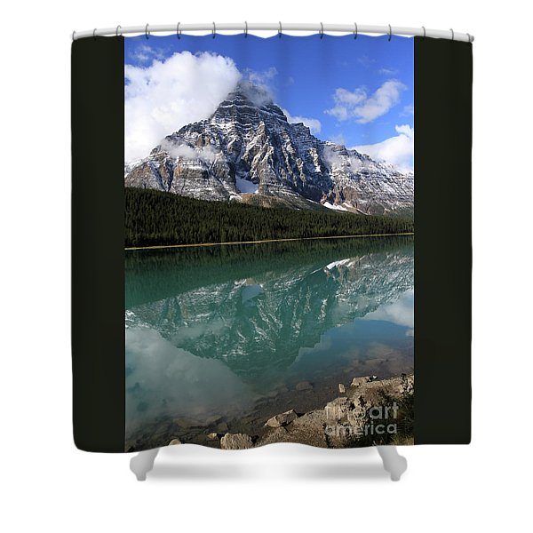 Mt Refection Shower Curtain