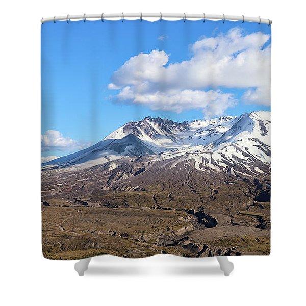 Mt Saint Helens Shower Curtain
