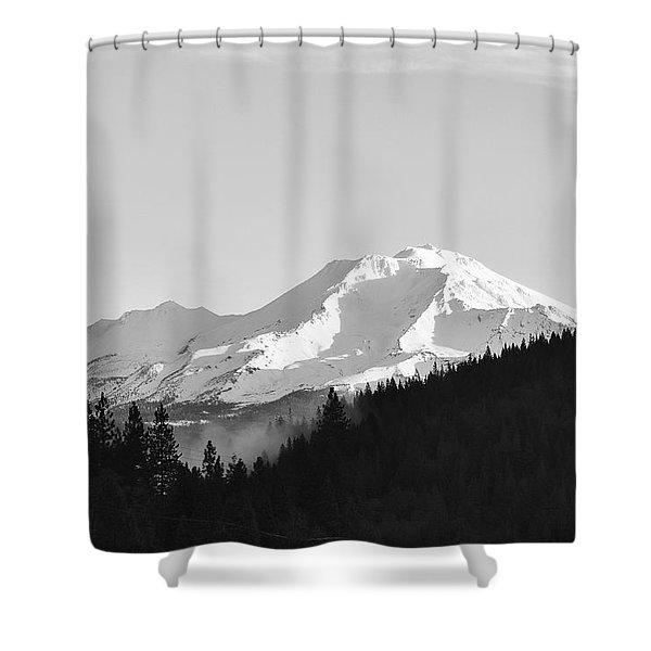 Mt Shasta Shower Curtain