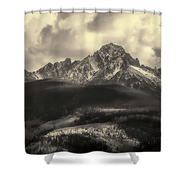 Mt. Sneffels Shower Curtain