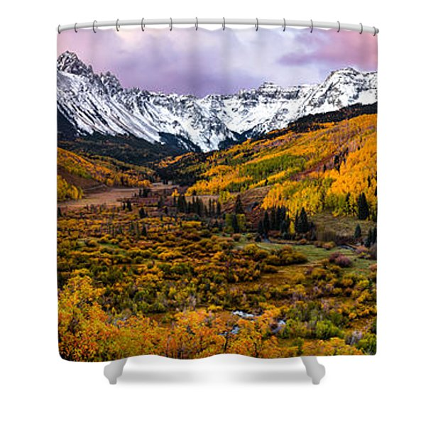 Mt. Sneffles Overlook Shower Curtain