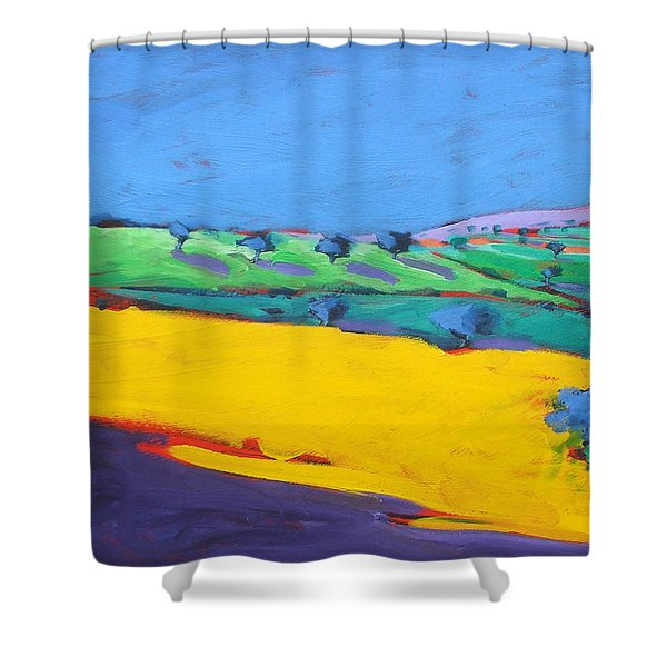 Much Marcle  Shower Curtain