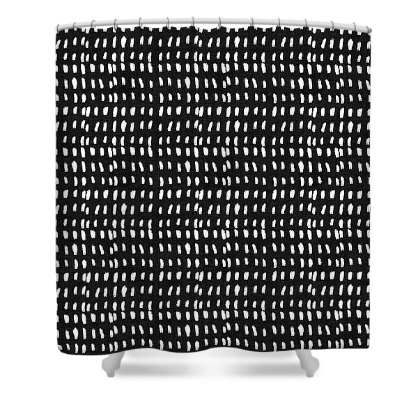Mud Cloth 8- Art By Linda Woods Shower Curtain