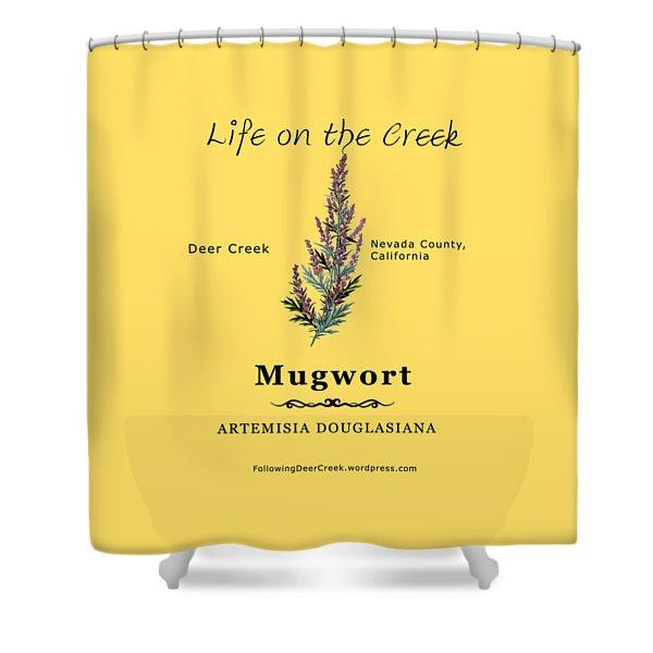 Mugwort Shower Curtain