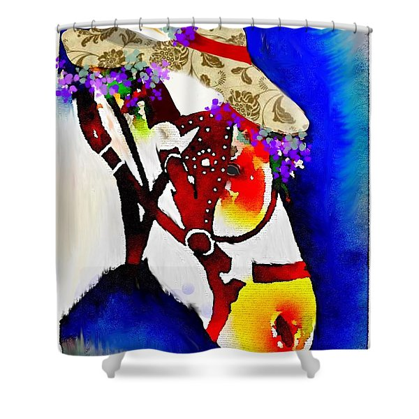 Mule Days Shower Curtain