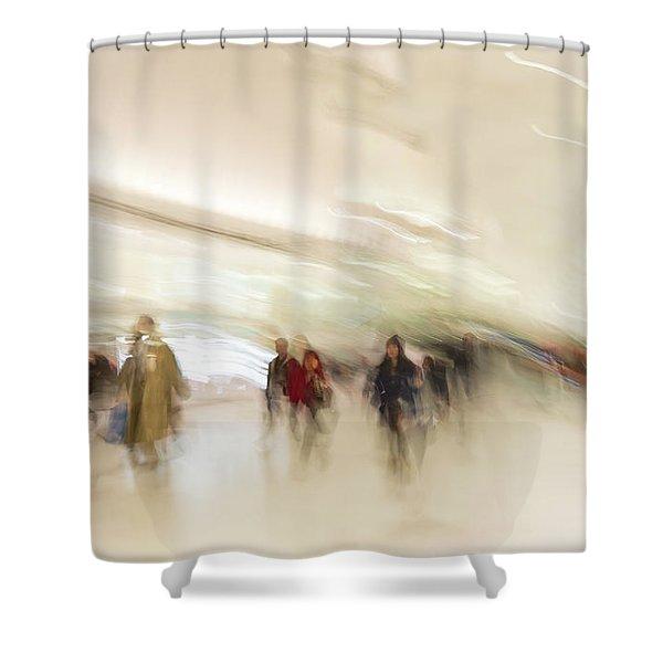 Multitudes Shower Curtain