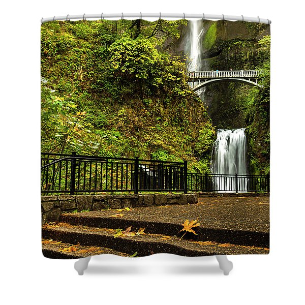 Multnomah Falls,oregon Shower Curtain