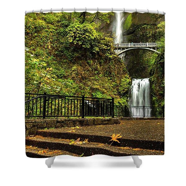 Multnomah Falls,oregon Shower Curtain