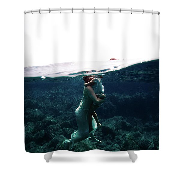 Mum And Daughter Shower Curtain