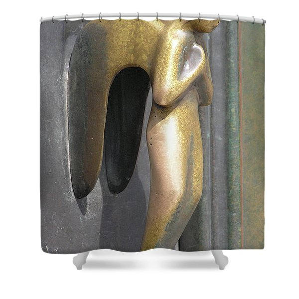 Munich Angel Shower Curtain