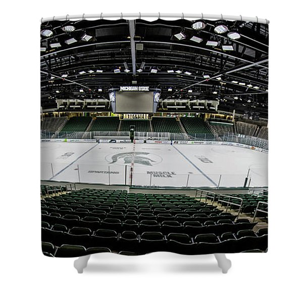 Munn Ice Arena  Shower Curtain